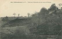 Vallée de la Gidonnière (au loin vue de St-Melaine) |