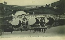 Le vieux Pont du Moulin-Meur, sur la rivière Hyer |
