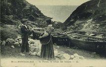 Au Porzen, le refuge des barques |