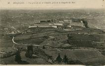Vue générale de la Citadelle, prise de la Chapelle des Buis |