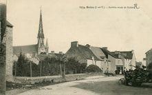 Bains (I.-et-V.) - Arrivée route de Redon |