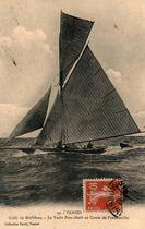 Le Yacht Penn-Duick au Comte de Francheville |