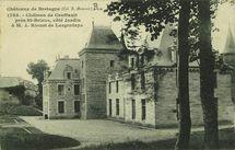 Château de Craffault près St-Brieuc, côté Jardin à M. J. Rioust de Largentaye  