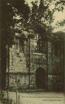 Porte de l'Ancienne Eglise de l'Abbaye de St-Maurice |