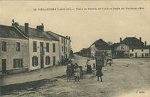 Place du Champ de Foire et Route de Rocheservière   Chapeau