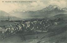 La Mure, vue générale et l'Obiou |
