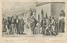 LE CHRIST A CAPHARNAUM, dessin de Th. Busnel | Busnel Th&eacute