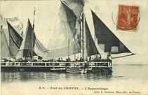 Port du Crotoy - L'appareillage |