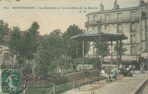Le Kiosque et les jardins de la Mairie | Malcuit E.