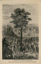 Combat des Trente (27 Mars 1351) entre trente Anglais et trente Bretons. Les Bretons commandés par Beaumanoir, furent vainqueurs des Anglais. |