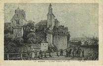 Le Vieux Château, vers 1850 |