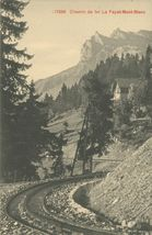 Chemin de fer Le Fayet-Mont-Blanc |