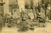 Coin d'un marché arabe |
