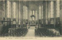 Intérieur de l'Eglise Sainte-Clothilde |
