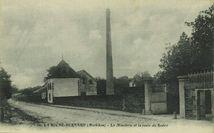 La Minoterie et la route du Rodoir |