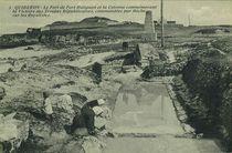 Le Fort de Port Haliguen et la Colonne commémorant la Victoire des Troupes Républicaines, commandées par Hoche sur les Royalistes |