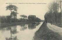Perspective du Canal d'Ille-et-Rance |