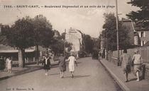 Boulevard Duponchel et un coin de la plage |