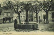 La vieille Maison et la Fontaine |