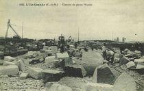 L'Ile Grande - Chantier de pierres Watelet |