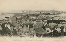 Vue Générale prise du Fort de la Cité |