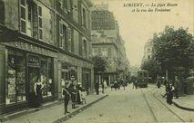La Place Bisson et la rue des Fontaines  