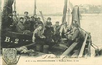 Barque de pêcheurs. Le rata |