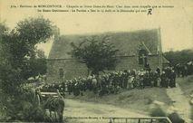 Environs de Moncontour - Chapelle de Notre-Dame du Haut. |