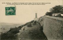 La Miotte et la Campagne qu'elle domine. C'est du Fort de la Miotte que fut tiré le 13 Février, à 8 heures du soir, le dernier coup de canon de la Guerre de 1870-1871  