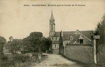 La Mairie, l'Ecole et la Poste  