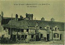 Maison du XVIe s. rue Saint-Yves |