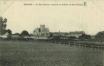 Le Bon Sauveur, vue prise de la Route de Saint-Nicolas |