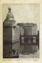 Le Beffroi de la ville close et le pont-levis |