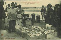 Cap-Breton-sur-Mer. La vente du poisson |