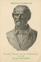 Theodor Hersart de la Villemarqué 1815-1895, Tad ar Barzaz-Breiz
