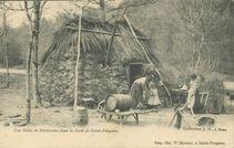Une Hutte de Bûcherons dans la Forêt de Saint-Fargeau | Moreau