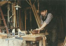 Bruno MARCILHACY ancien charpentier de marine, La Perche, Chabrignac (19) | Batillot Pierre
