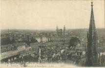 Panorama pris de Saint-Epvre  