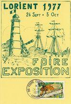 Lorient 1977. 24 Sept. 3 Oct. Foire-Exposition |