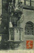 Chaire extérieure de l'Eglise Notre-Dame |