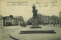 Place du Morbihan et Statue de Jules-Simon |