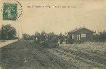 La Gare et la route de Rennes |