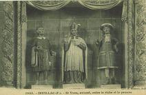St Yves, avocat, entre le riche et le pauvre |