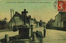 La rue Marcheix et la Croix de Kerthomas |
