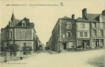 Place de l'Aumaillerie et Rue St-Denis |