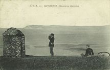 Cap Gris-en-Nez - Douanier en observation |