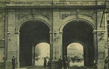 Porte Saint-Vincent (Vue intérieure) |