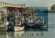 A l'abri de la pointe de Keroman. Les côtiers à quai | Caoudal Y.R.