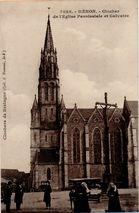 Clocher de l'Eglise Paroissiale et Calvaire |