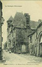 La Maison Sevoy (Vue prise de la Place) |